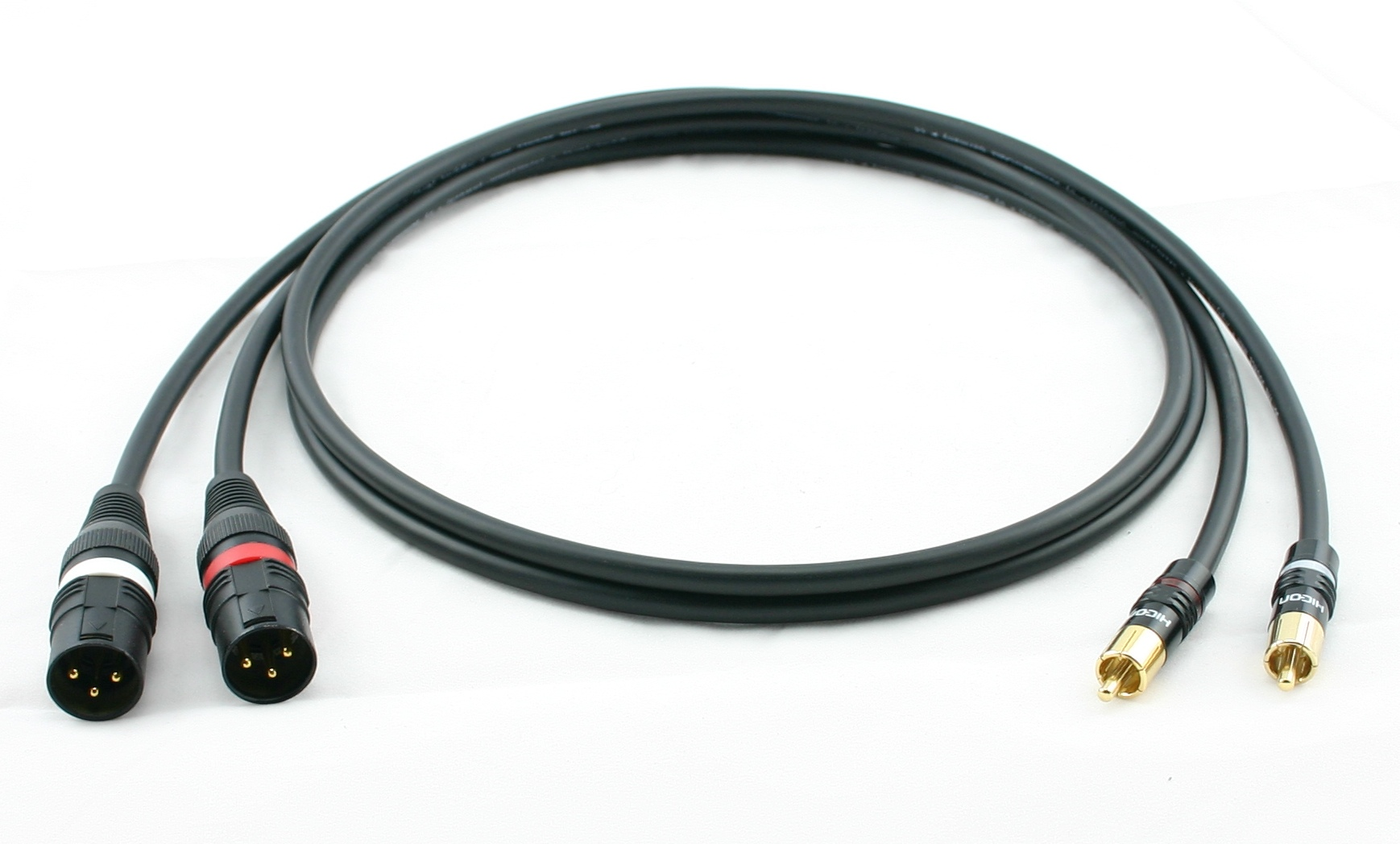 Cinch auf XLR-Stecker male Hicon Adapterkabel Sommercable GALILEO